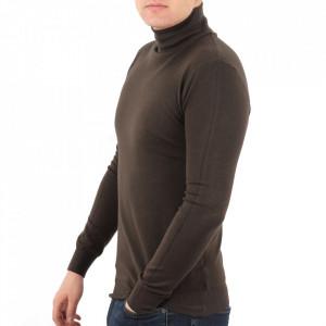 Bluză M-001 Maro - Bluza simplă este cel mai versatil articol vestimentar din sezonul rece, o piesă cu reputaţie a stilului casual având compoziţia 50% Viscoză 28% PPTşi 22% Elastan - Deppo.ro