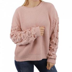 Bluză pentru dame cod F75 Pink - Bluzăpentru dame - Deppo.ro