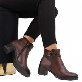 Botine cod C26 Brown