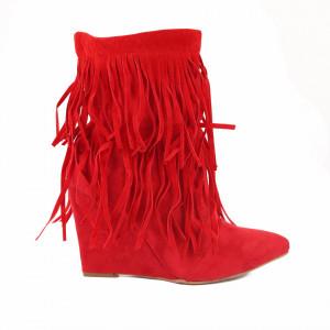Botine Larossa Red