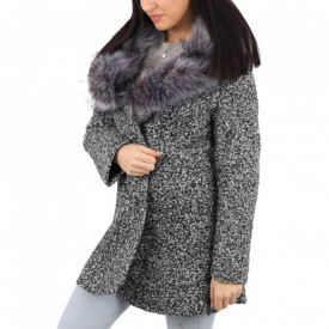 Palton pentru dame cod KHR Grey