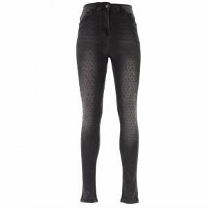 Pantaloni de blugi pentru dame cod 2170 Negri