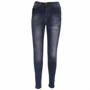 Pantaloni de blugi pentru dame cod BLG442 Albastri