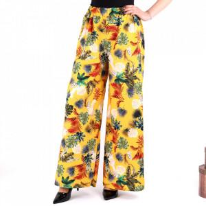 Pantaloni pentru dame cod P2917 Yellow