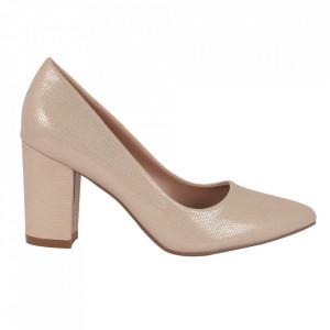 Pantofi cu toc 920-21H Gold