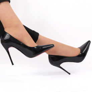 Pantofi cu toc pentru dame cod 00928 Black