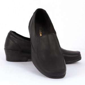 Pantofi din piele naturală Cod 1262 - Pantofi damă din piele naturală  Foarte confortabili cu un tălpic special care conferă lejeritate chiar și în cazurile în care petreci mult timp stând în picioare. - Deppo.ro