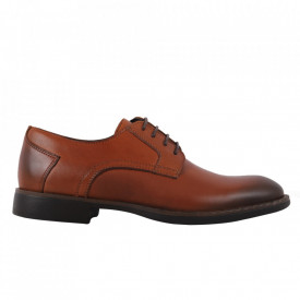 Pantofi din piele naturală cod 311 Maro Deschis