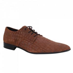 Pantofi din piele naturală pentru bărbați cod 3011 Camoscio Beige