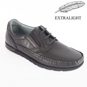 Pantofi din piele naturală pentru bărbați cod 621 N