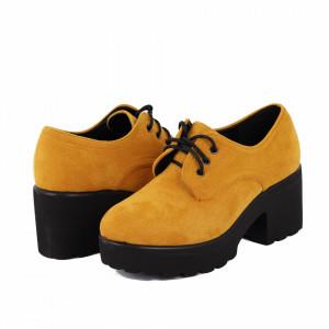 Pantofi Janiah Yellow