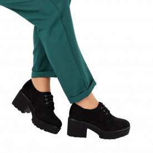 Pantofi Mina Black