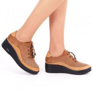 Pantofi pentru dame cod 176853 Maro
