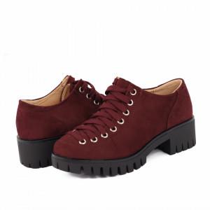 Pantofi pentru dame cod D50081 Bordo