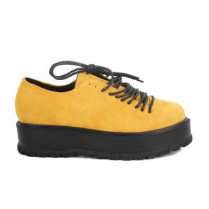 Pantofi pentru dame cod XH-30 Yellow