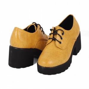 Pantofi pentru dame cod XH01 Galbeni
