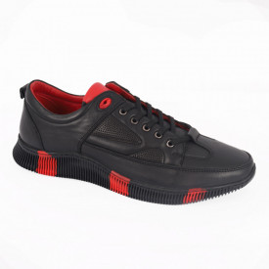 Pantofi Sport din piele naturală pentru bărbați cod 1052 Siyah