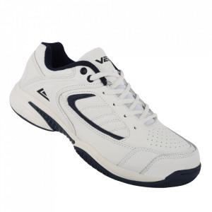 Pantofi sport din piele naturală pentru bărbați cod 1301B White