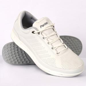 Pantofi Sport pentru bărbați albi cod A69 WHITE