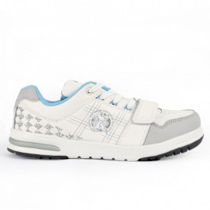 Pantofi Sport pentru bărbați cod 830 White - Pantofi sport pentru bărbați Ideali pentru ieșiri si practicarea exercitiilor în aer liber - Deppo.ro