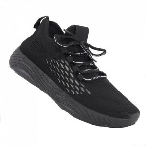 Pantofi sport pentru bărbați cod A02 Black