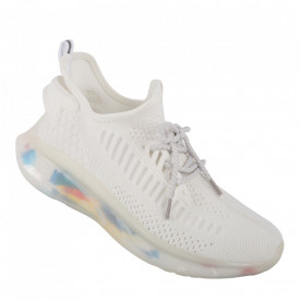 Pantofi sport pentru bărbați cod A05-6 White