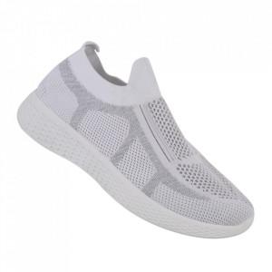Pantofi sport pentru dame cod 781-2 White