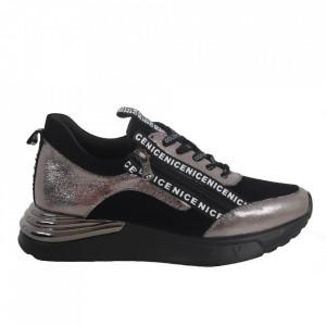 Pantofi sport pentru dame cod C42 Black