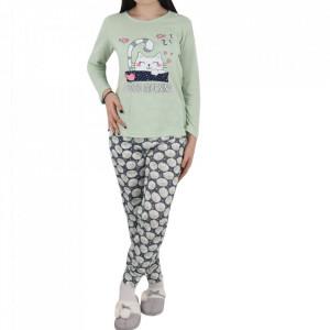 Pijama pentru dame cod CT Green