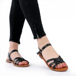 Sandale cu talpă joasă cod M40 Black