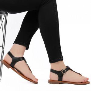 Sandale cu talpă joasă cod M41 Black