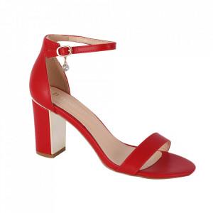 Sandale din piele ecologică cod OD339 Red