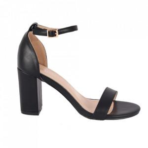 Sandale din piele ecologică cod OD350 Black