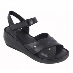 Sandale din piele naturală cod 05 Black