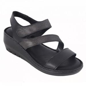 Sandale din piele naturală cod 06 Black