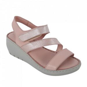 Sandale din piele naturală cod 06 Pudra