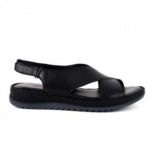 Sandale din piele naturală cod 13706 Syiah