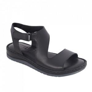 Sandale din piele naturală cod 17 Siyah