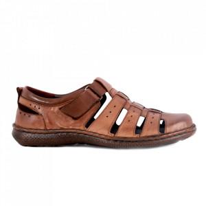 Sandale pentru bărbaţi cod 701NS Maro