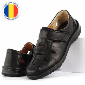 Sandale pentru bărbaţi cod B700 negre