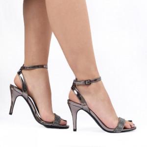 Sandale pentru dame cod 117-5 SILVER