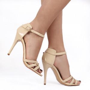 Sandale pentru dame cod 18F8151 Beige