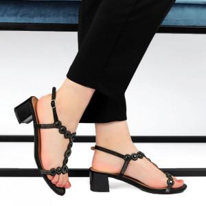 Sandale pentru dame cod 8767-52 Black