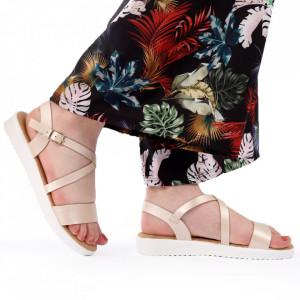 Sandale pentru dame cod B33 Beige