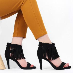 Sandale pentru dame cod B5665 Negre