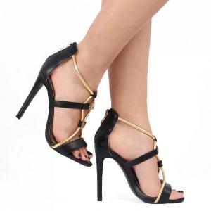 Sandale pentru dame cod FWH621 negru