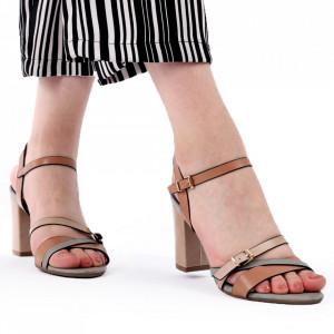 Sandale pentru dame cod J49 Pink