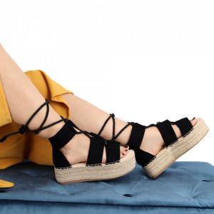 Sandale pentru dame cod JM223 Black