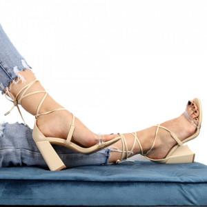 Sandale pentru dame cod KN008 Beige