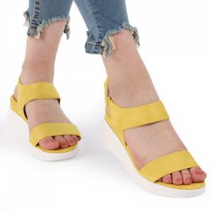 Sandale pentru dame cod L04 Yellow